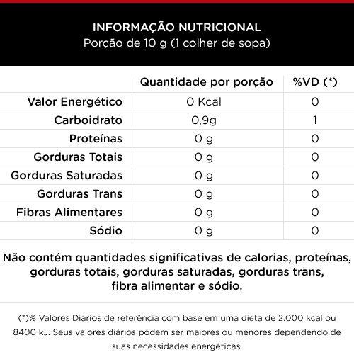Ketchup Zero Caloria 370g - 100 Foods