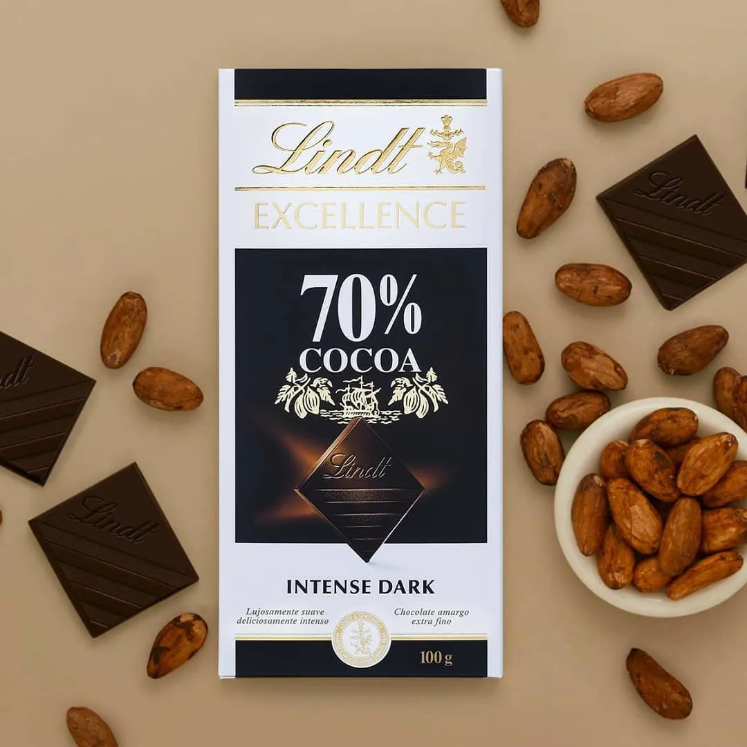 Lindt EXCELLENCE 70% Cacau Intense Dark 100g - Lindt