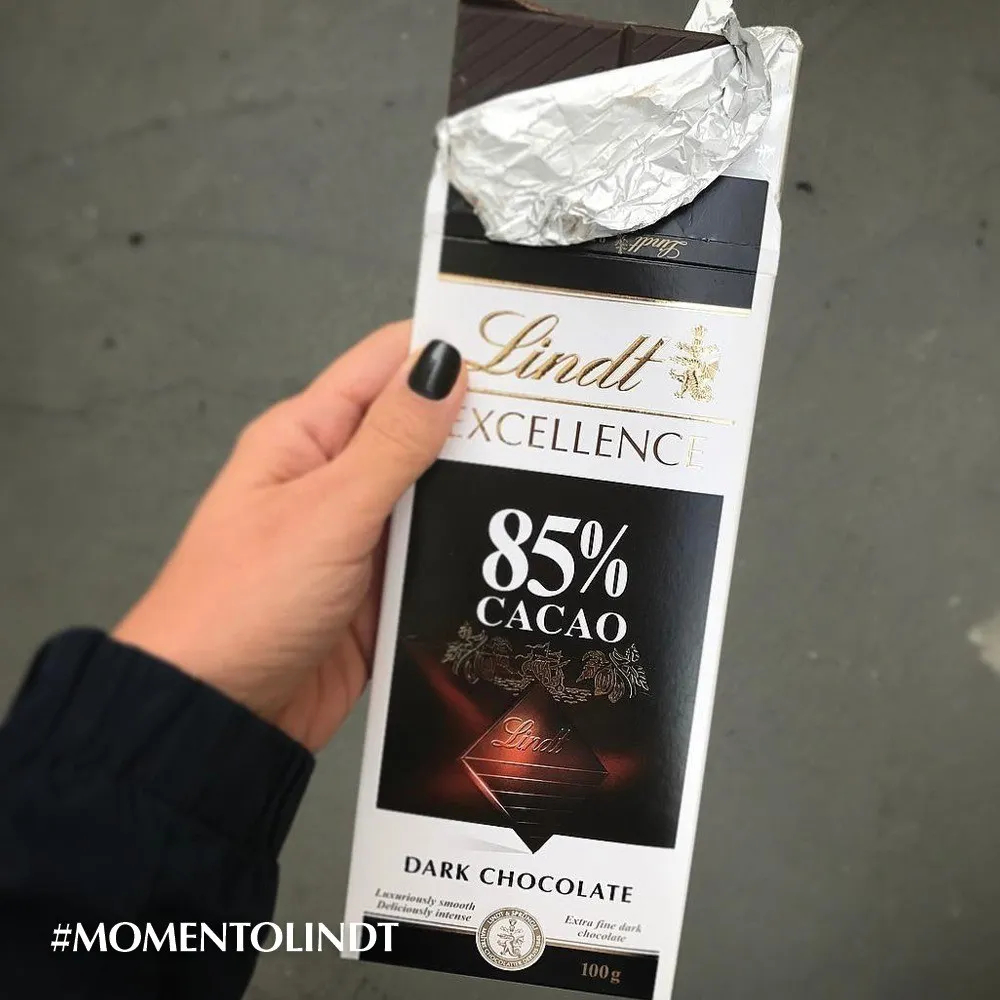 Lindt EXCELLENCE 85% Cacau RIich Dark 100g - Lindt