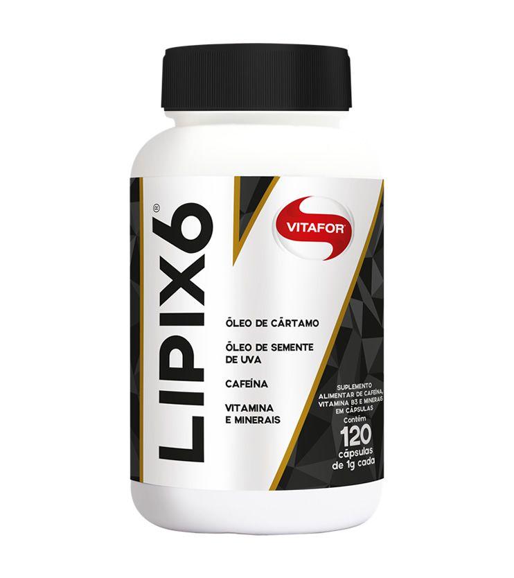 LIPIX 6 120 Cápsulas - Vitafor