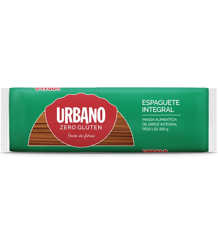 Macarrão Espaguete Integral Zero Glúten 500g - Urbano