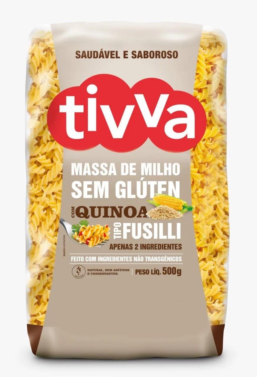 Macarrão Sem Glúten tipo Fusilli com Quinoa 500g - Tivva