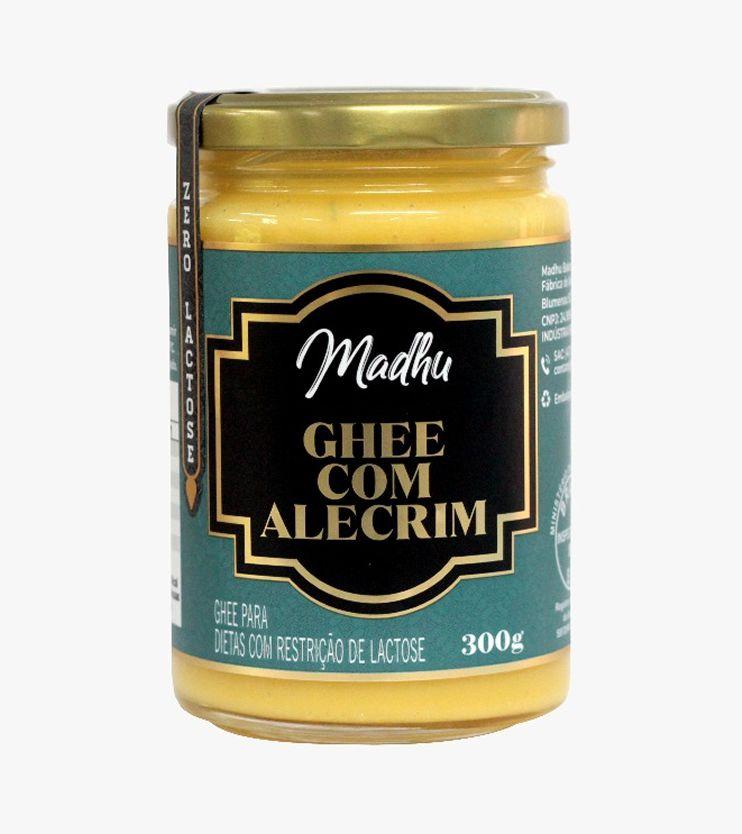 Manteiga Ghee Alecrim Zero lactose 300g- Madhu