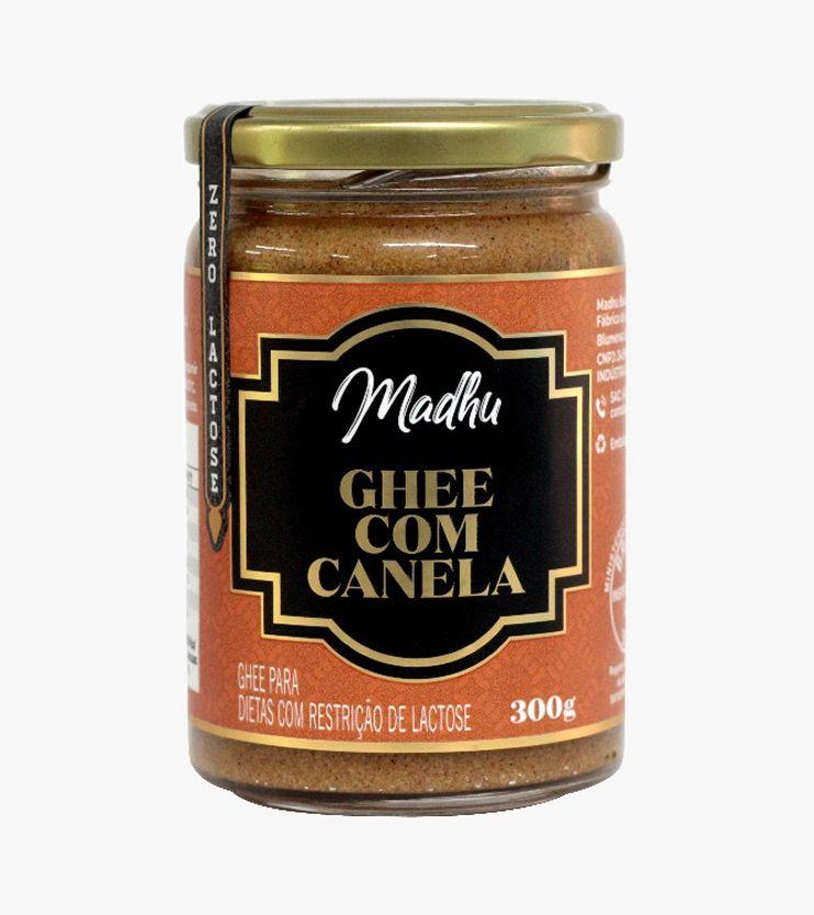 Manteiga Ghee Canela Zero lactose 300g- Madhu