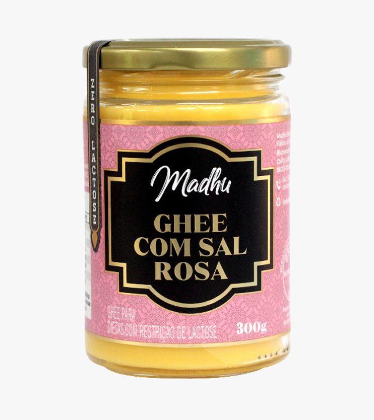 Manteiga Ghee Sal do Himalaia Zero lactose 300g- Madhu
