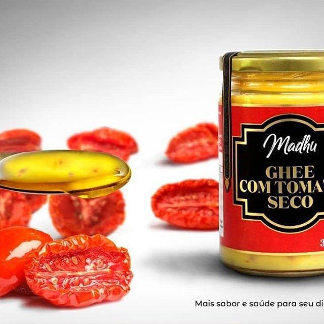 Manteiga Ghee Tomate Seco com Assafétida Zero lactose 300g- Madhu