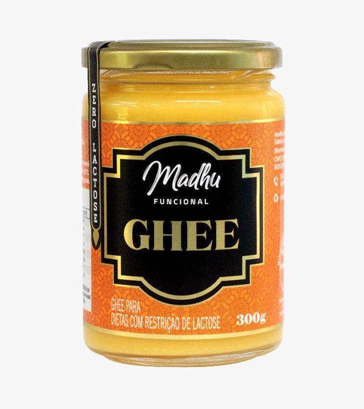 Manteiga Ghee Tradicional Zero lactose 300g- Madhu