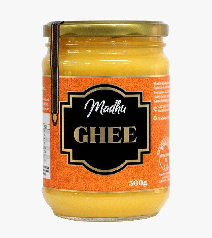 Manteiga Ghee Tradicional Zero lactose 500g- Madhu