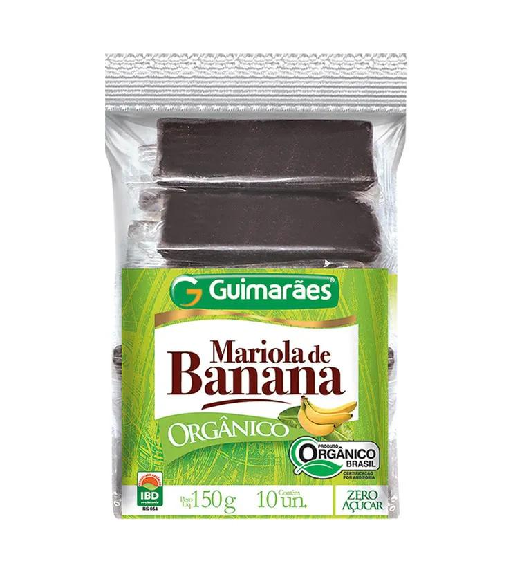 Mariola de Banana Orgânica 150g - Guimarães