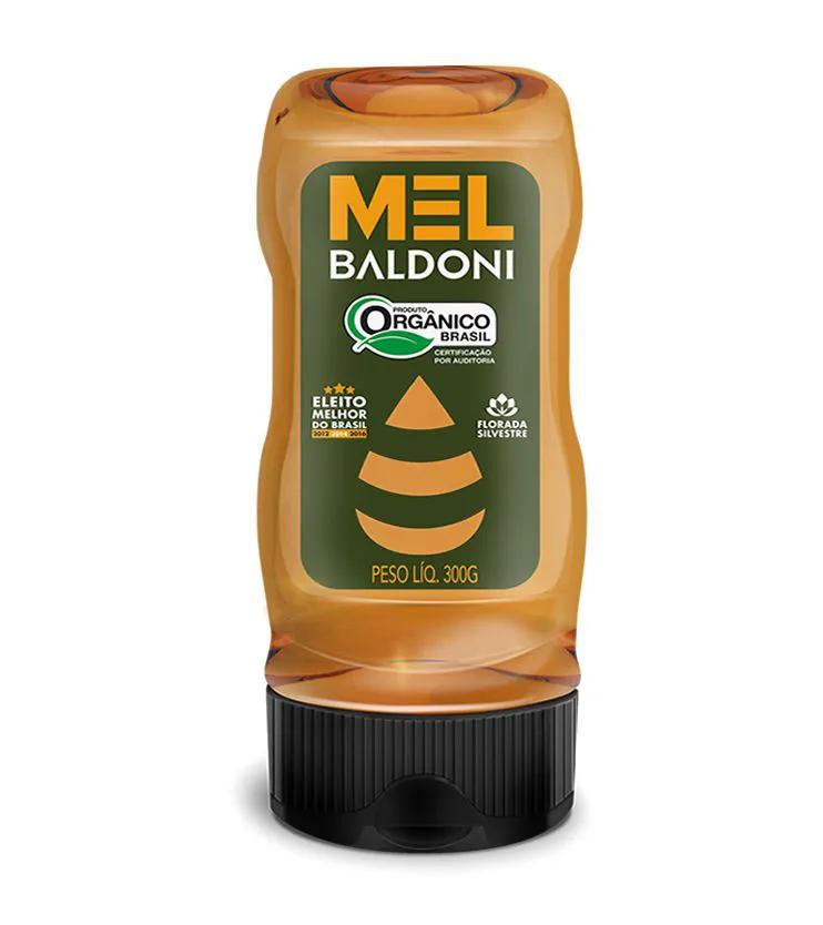 Mel Orgânico Bisnaga 300g - Baldoni