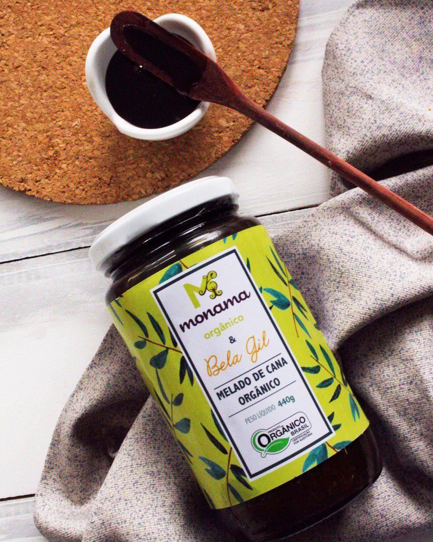 Melado de cana Orgânico Monama & Bela Gil 440g - Monama