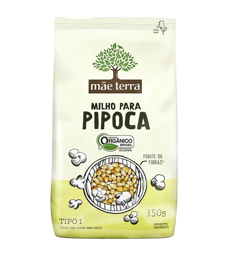 Milho para Pipoca Orgânico 350g - Mãe Terra
