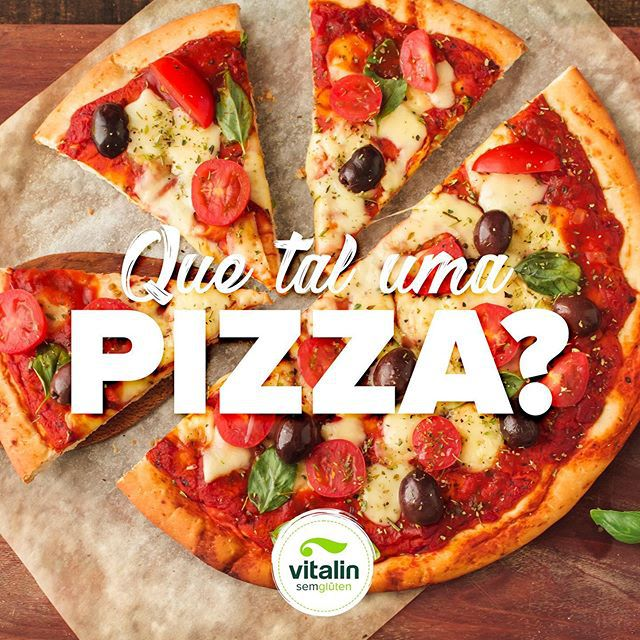 Mistura Integral Sem glúten para Pizza 200g - Vitalin Sem glúten
