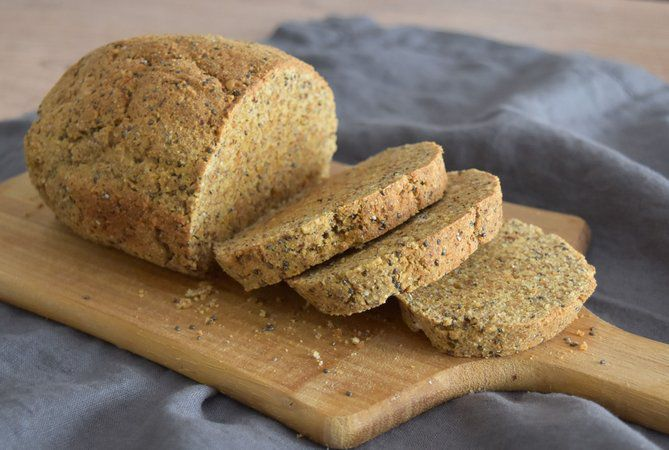 Mistura para pão Low Carb 280g - Holy Nuts