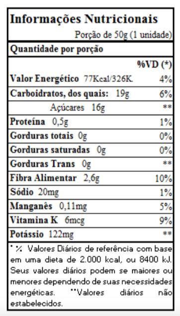 Mix de frutas desidratadas Blueberry & Maçã 50g - biO2