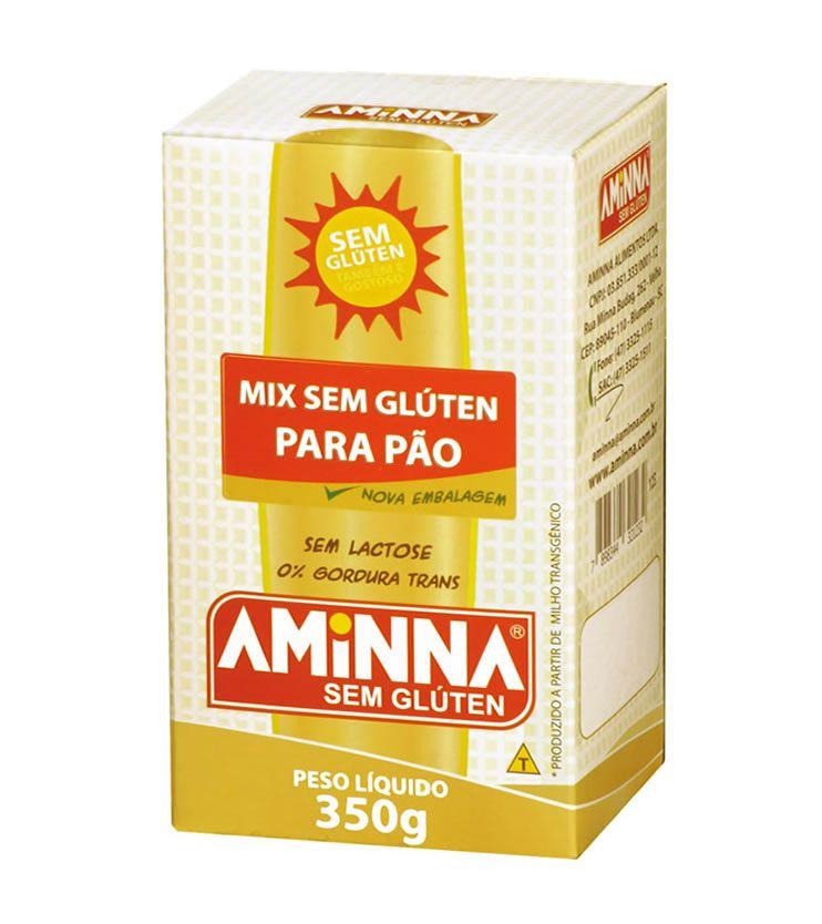 Mix para Pão sem Glúten 350g - Aminna