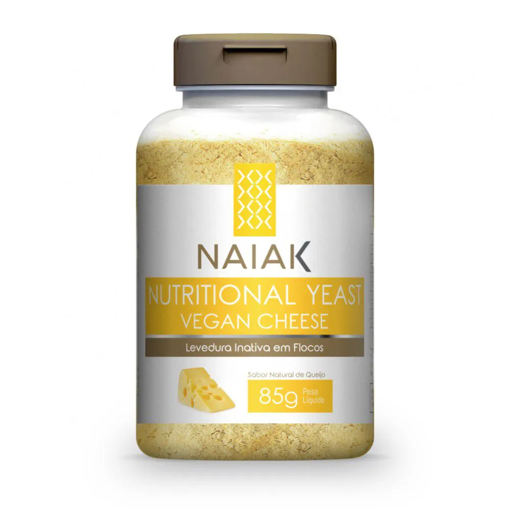 Nutritional Yeast Vegan Cheese 85g – Naiak