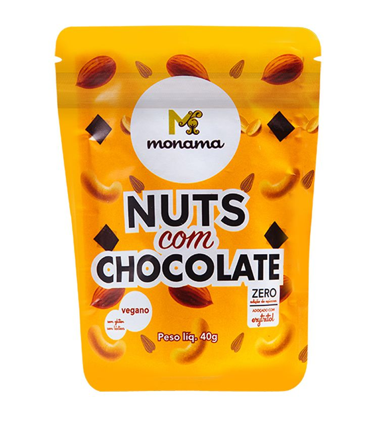 Nuts com Chocolate 40g - Monama