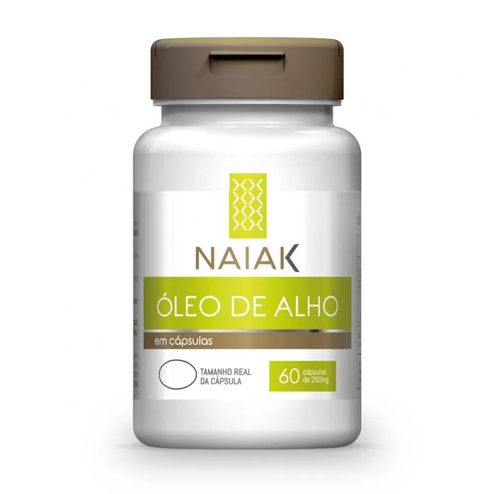 Óleo de Alho 60 cápsulas - Naiak