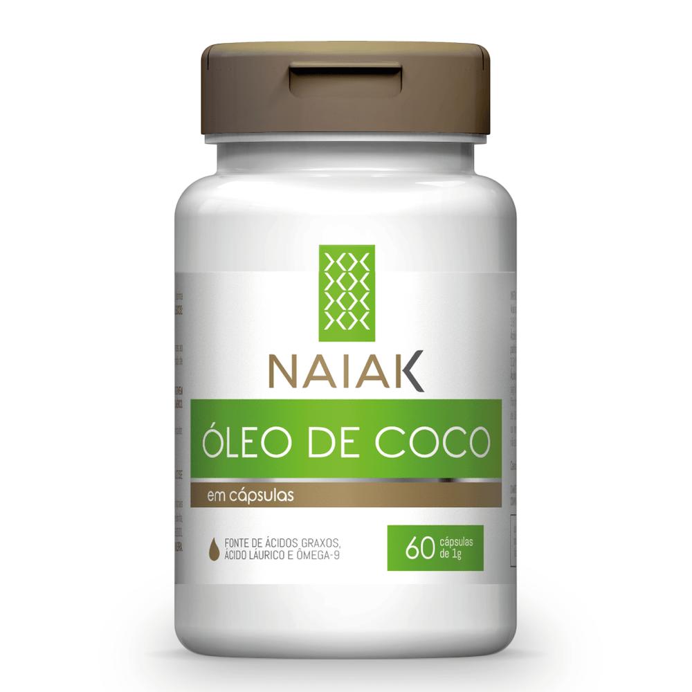 Óleo de Coco 60 cápsulas - Naiak