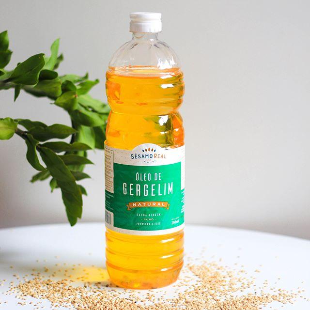 Óleo de Gergelim Natural Puro Extra virgem e Prensado à frio 1 litro - Sésamo Real