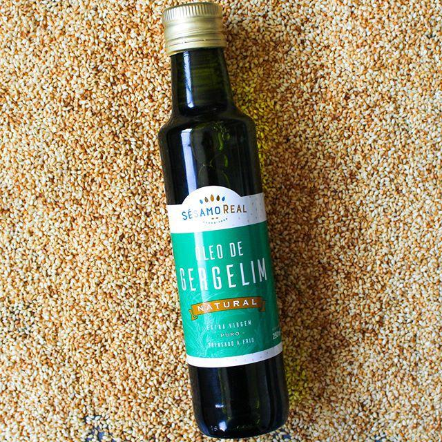 Óleo de Gergelim Natural Puro Extra virgem e Prensado à frio 250ml - Sésamo Real