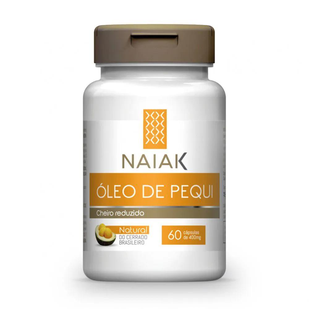 Óleo de Pequi 60 cápsulas - Naiak