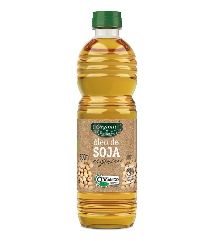 Óleo de Soja Orgânico Prensado à frio 500ml - Organic