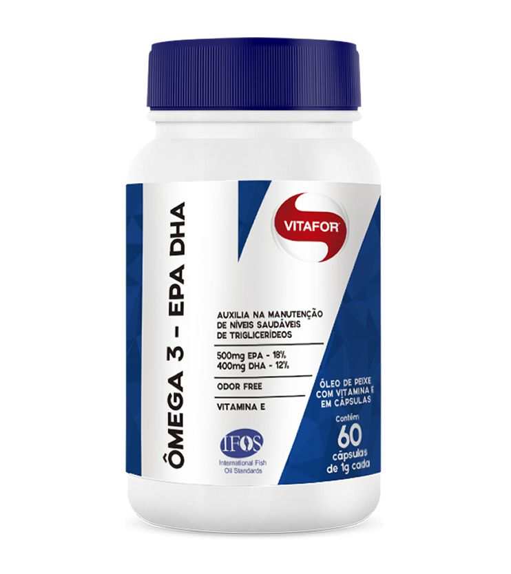 Ômega 3 EPA DHA 60 cápsulas 1000mg - Vitafor