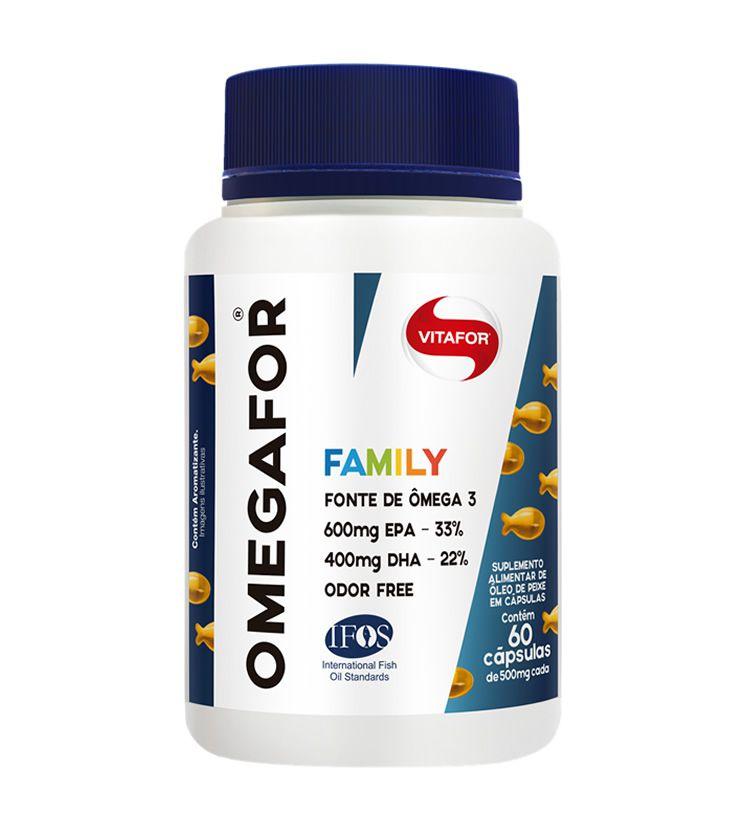 OMEGAFOR Family 60 cápsulas - Vitafor