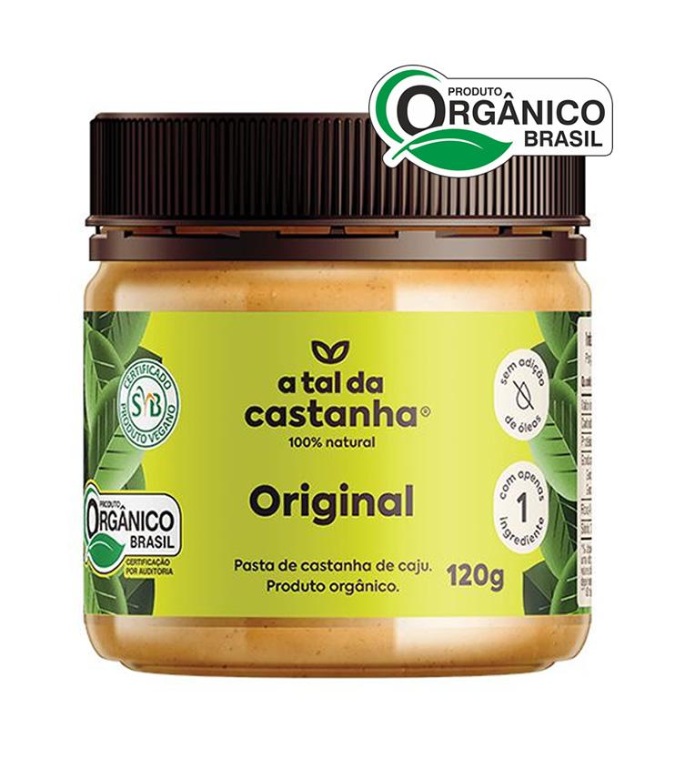 Original - Pasta de Castanha de Caju 120g - A tal da Castanha