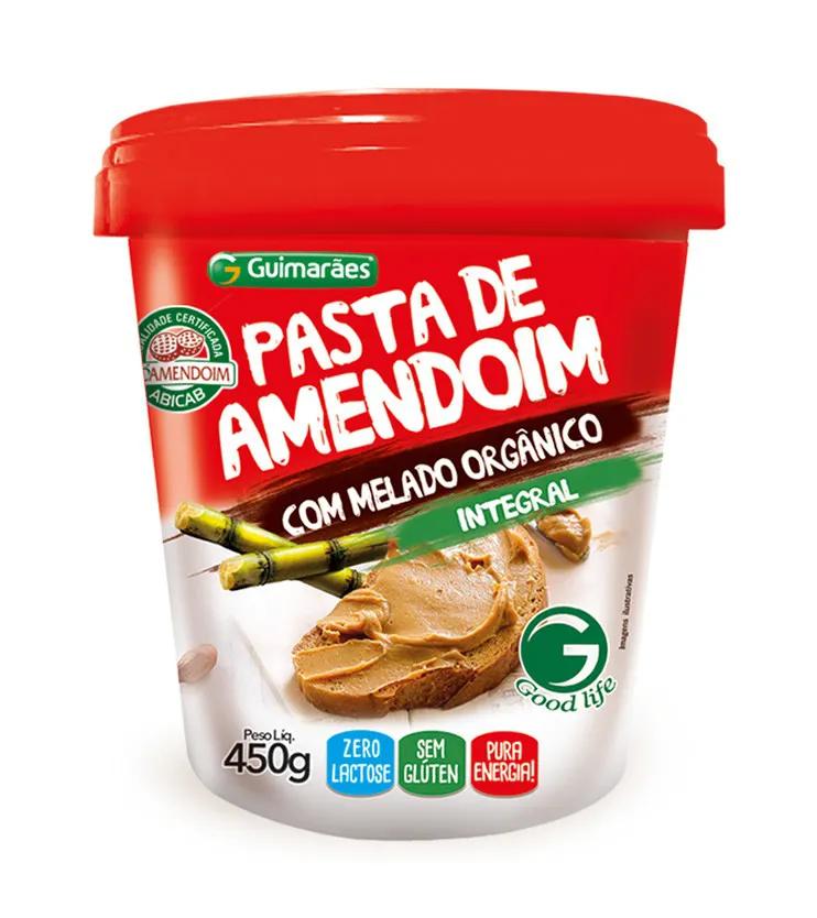 Pasta de Amendoim com Melado Orgânico 450g - Guimarães