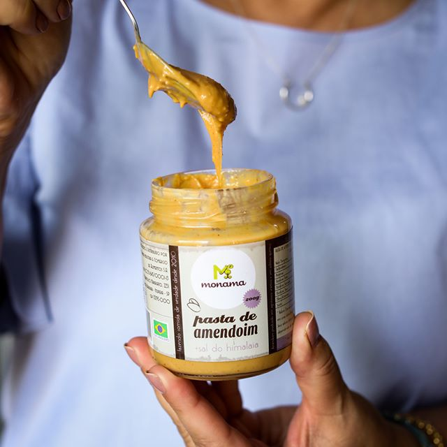 Pasta de Amendoim com sal do Himalaia 200g - Monama