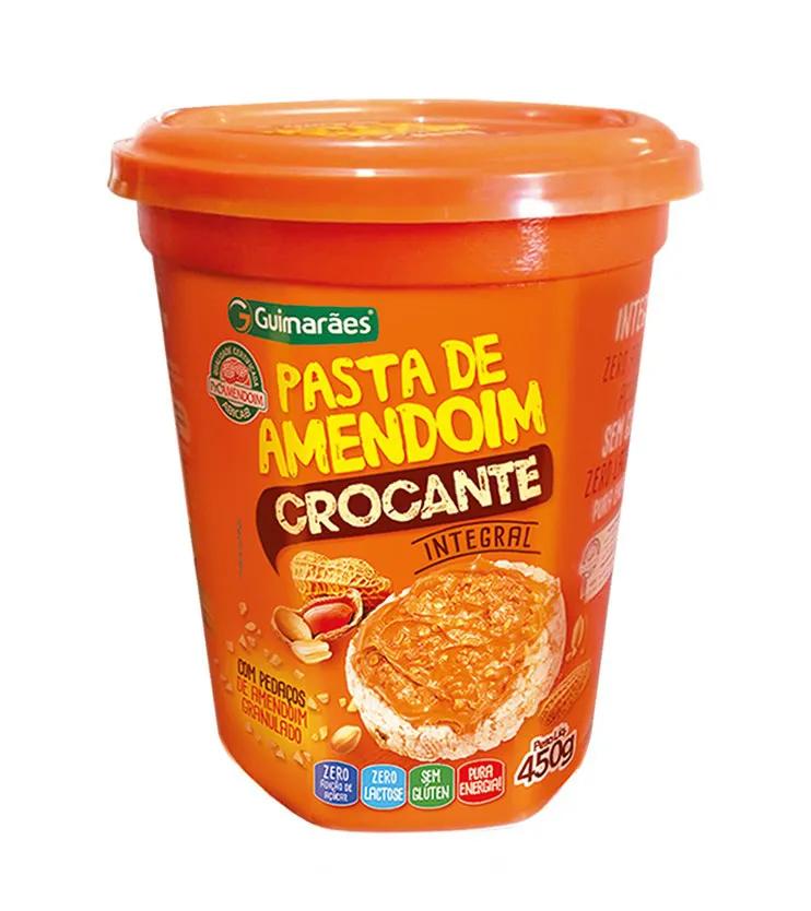 Pasta de Amendoim Integral Crocante 450g - Guimarães