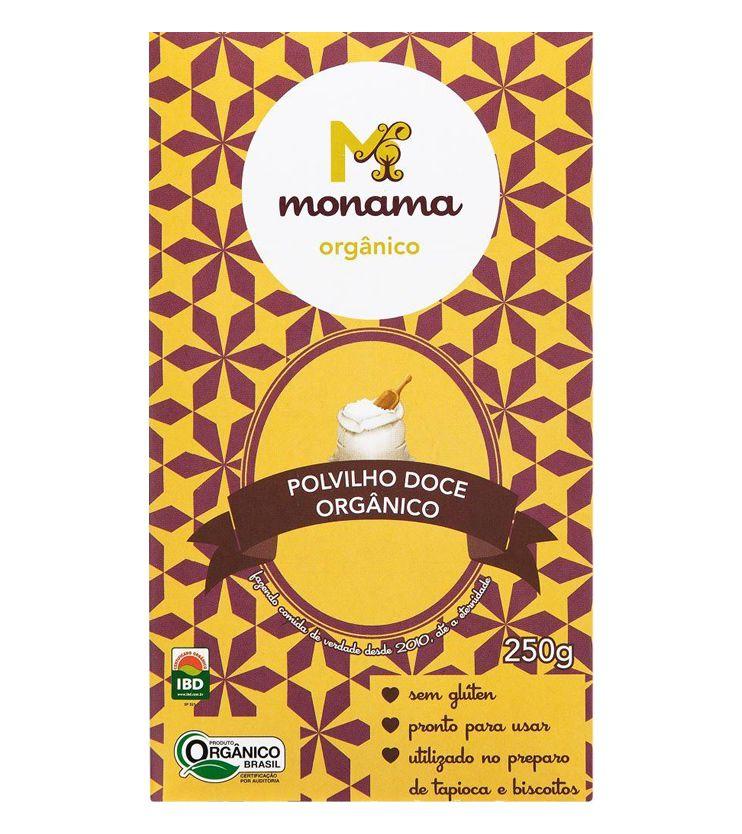 Polvilho doce Orgânico 250g - Monama