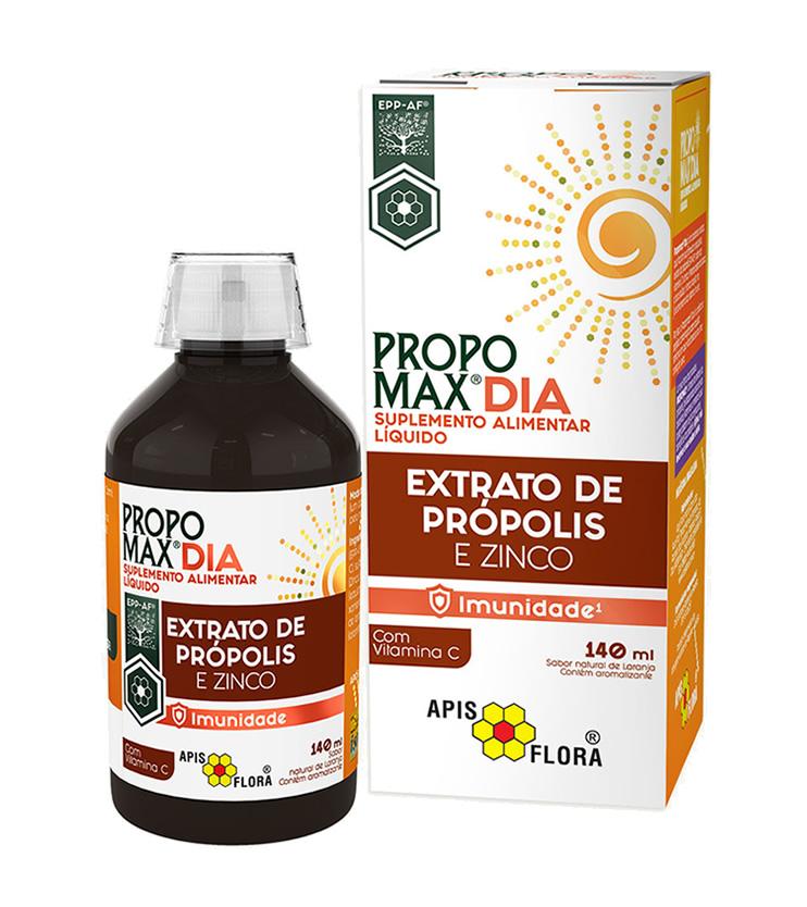 PROPOMAX Dia Extrato de própolis e Zinco 140ml - Apis Flora