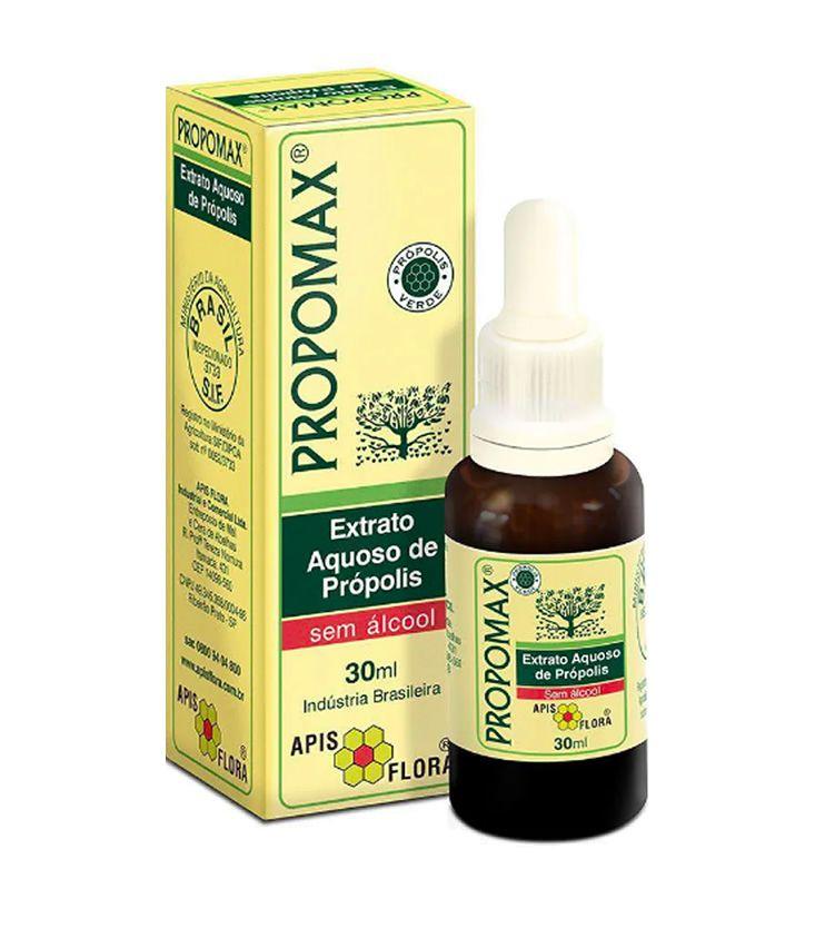 PROPOMAX Extrato Aquoso de Própolis (sem álcool) 30ml - Apis Flora