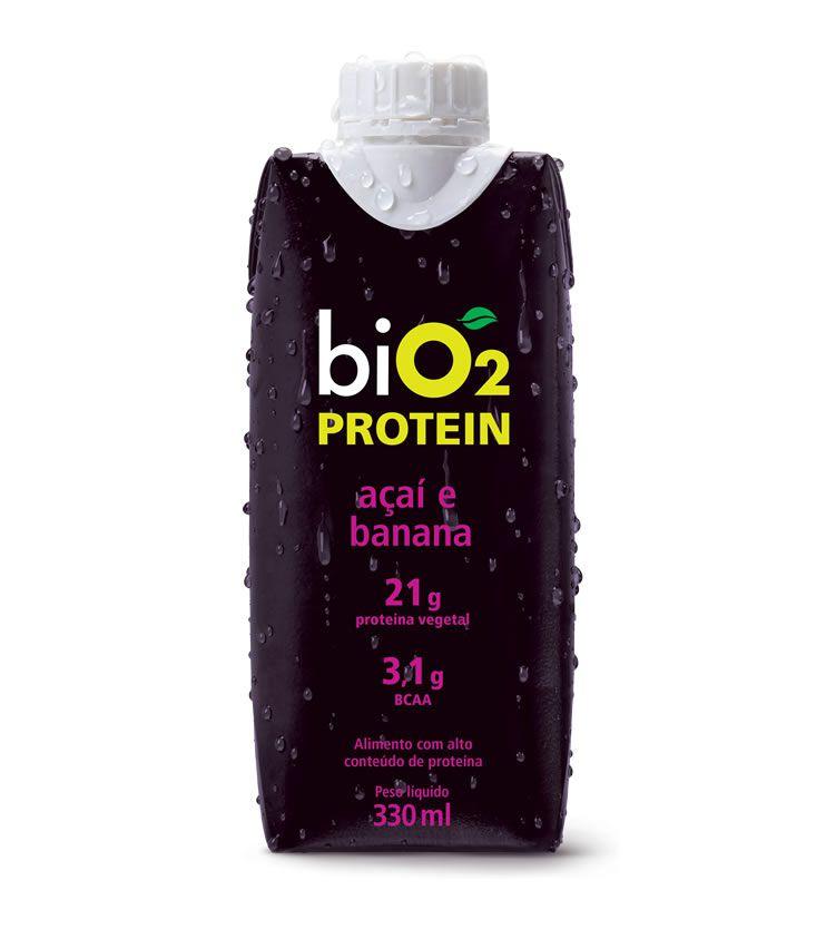 Protein Shake Açaí e Banana 330ml - biO2