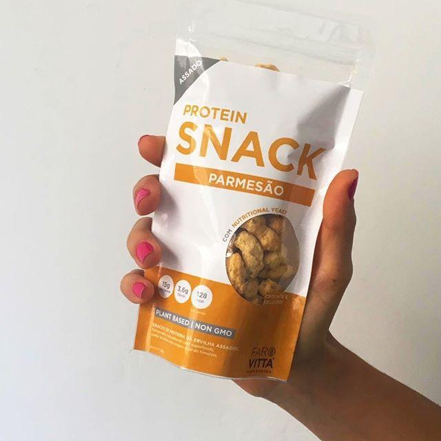 Protein Snack Vegano sabor Parmesão (nutritional yeast) 35g - Farovitta Superfoods