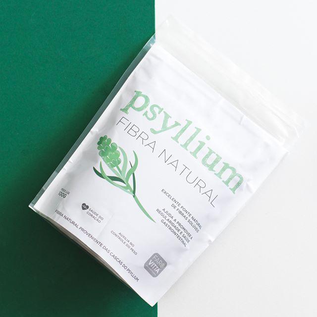 Psyllium fibra natural 100g - Farovitta Superfoods