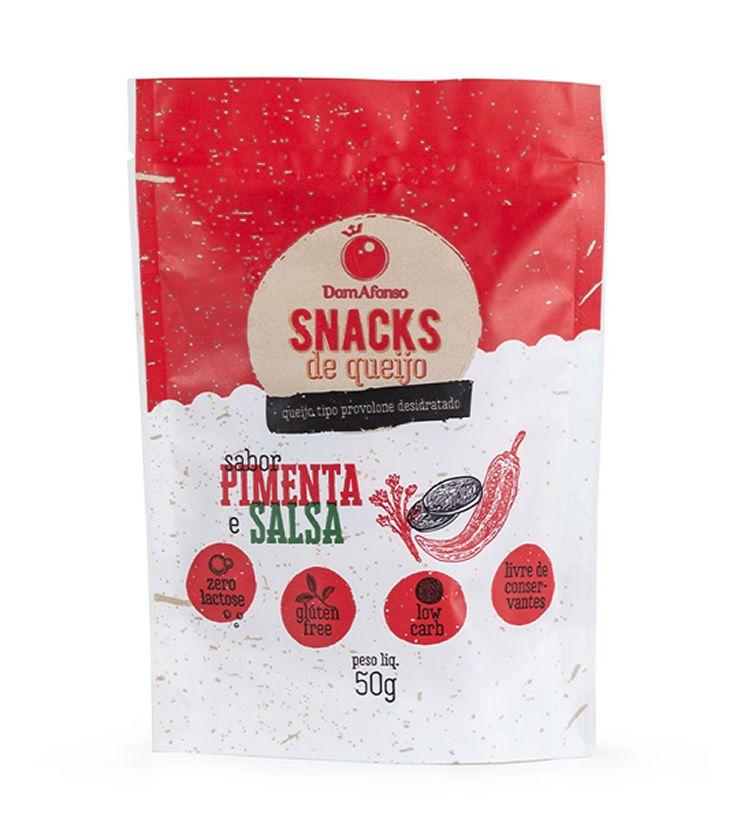 Queijo Provolone Desidratado sabor Pimenta e Salsa 50g - Queijos Dom Afonso