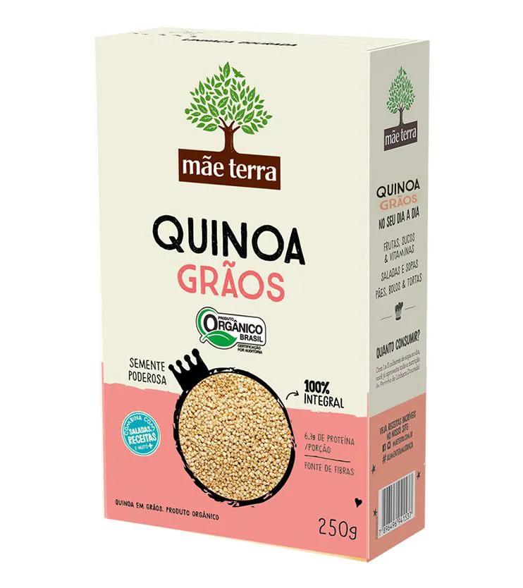 Quinoa em grãos Orgânica 250g - Mãe Terra