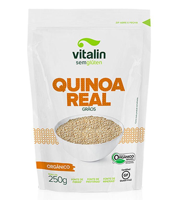 Quinoa em Grãos Orgânica 250g - Vitalin Sem glúten