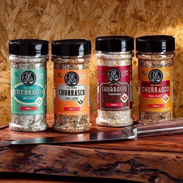 Sal para Churrasco Tradicional 300g - BR Spices