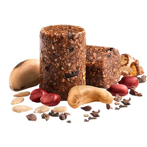 Senhora Paçoca Mixed Nuts + Sementes de Girassol, Nibs de Cacau e Pipoca 17g - Senhora Pipoca