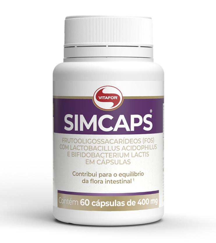 Simcaps Probióticos 60 cápsulas - Vitafor