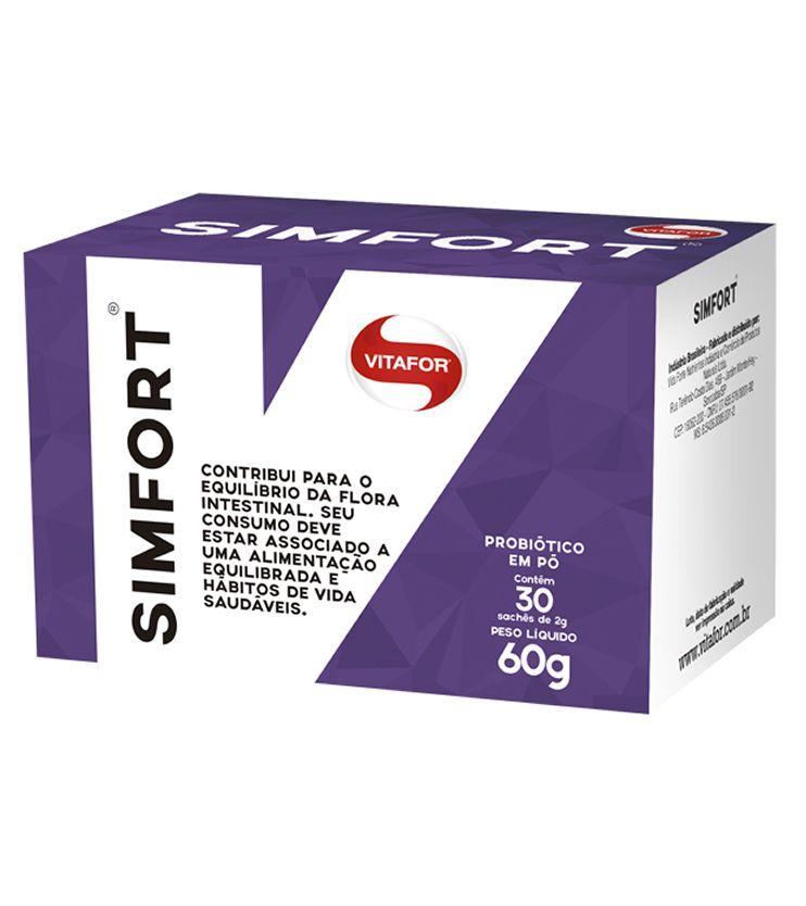 SIMFORT 30 sachês Probióticos em pó - Vitafor