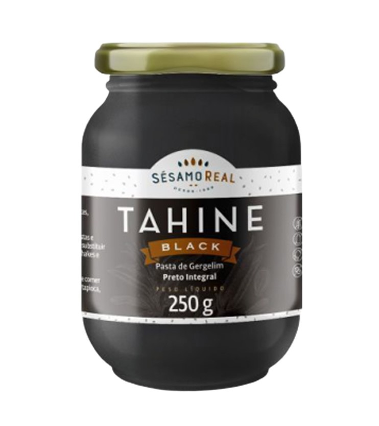 Tahine Black 250g - Sésamo Real