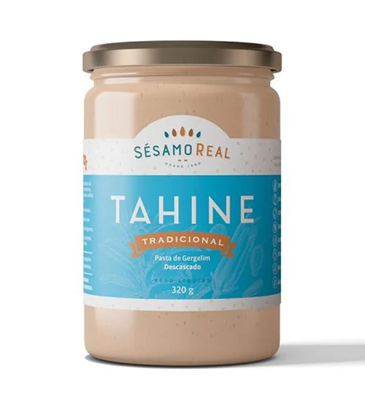 Tahine Tradicional 320g - Sésamo Real