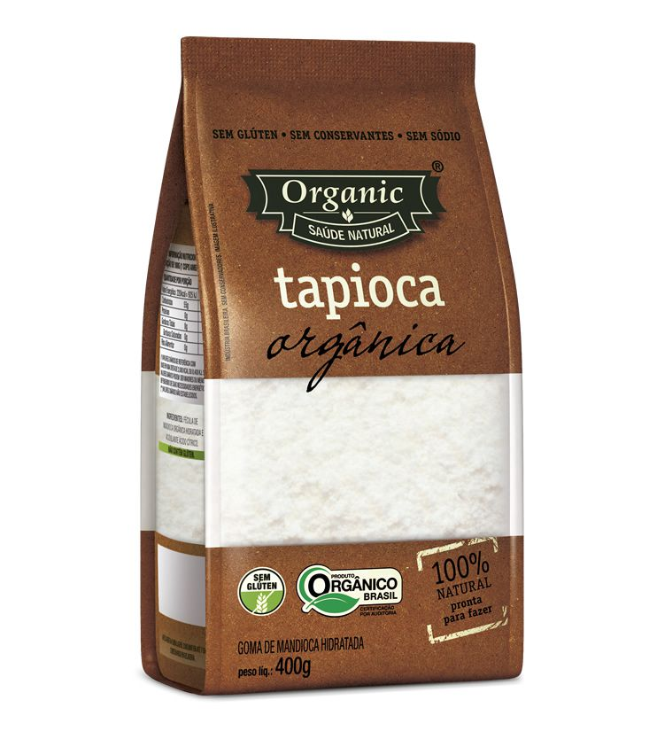 Tapioca Orgânica 400g - Organic